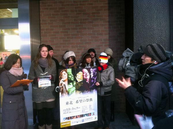 仙台市和鄰近城市的教會派出很多義工協助佈道會當日的各項事奉。(圖:大會Facebook)
